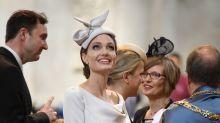 Angelina Jolie channels Meghan Markle at royal event