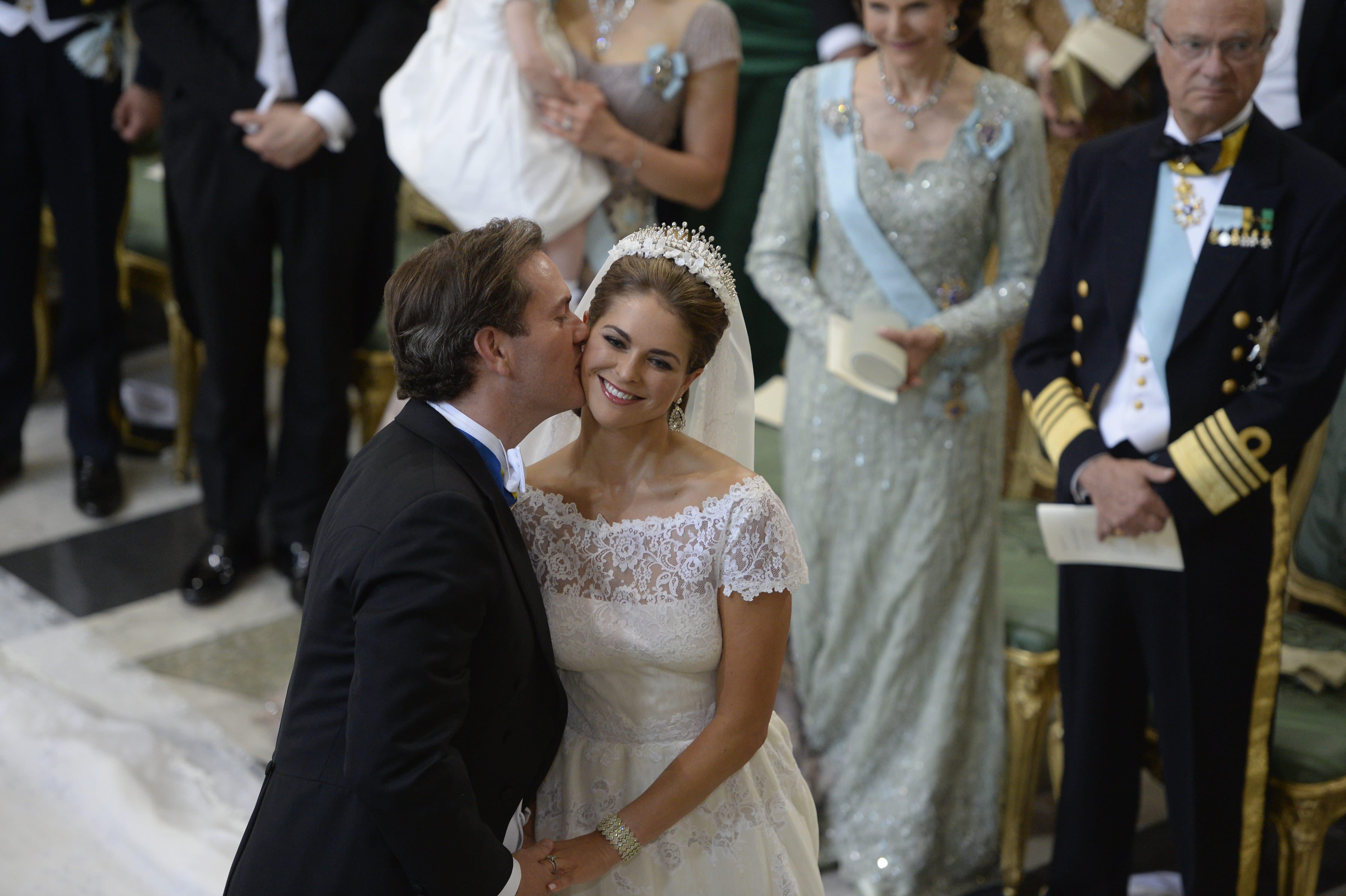 Princesa madeleine de Suecia postal