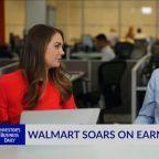 WMT Soars On Earnings