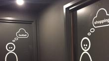 These bathroom signs are boringly sexist