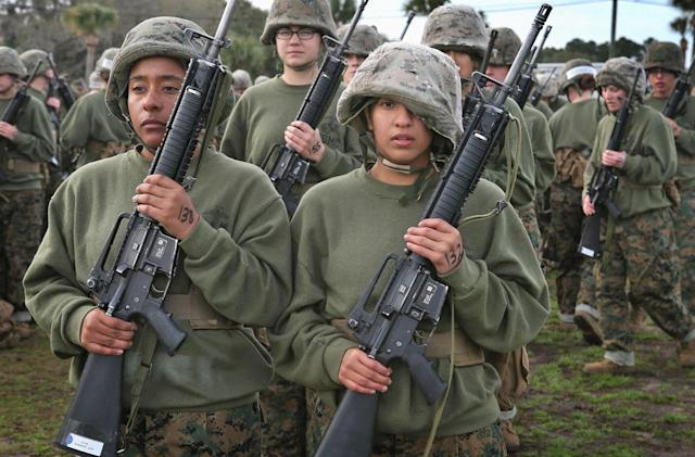 Marine Corps guidelines now ban online sexual harassment