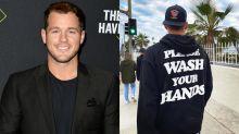 'Please wash your hands': 'Bachelor' star issues coronavirus 'PSA' to fans in $185 designer sweatshirt