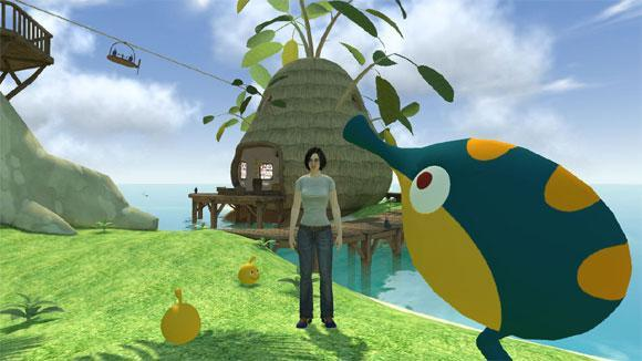 LocoRoco Home space is the happiest place on virtual earth