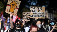 Morrison lashes 'appalling' Sydney protest