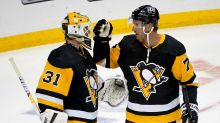 Carter, Lagace help Penguins beat Sabres, clinch 1st in East