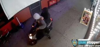 Gunmen injure 10 in NYC attack, speed off on mopeds