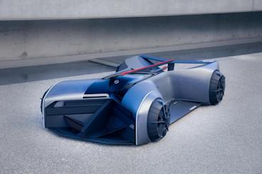 30年後的GT-R用趴著開? Nissan GT-R (X)2050概念車創意無限!