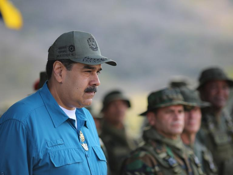 Russia warns against 'destructive meddling' in Venezuela as UK recognises opposition leader as president
