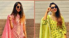 Niti Taylor Flaunts Her Yellow And Pink Suits With Utmost Style, Which One Did You Like More?