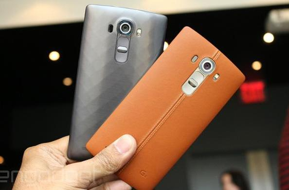 LG's leather-clad G4 flagship goes on sale this week