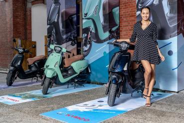 光陽機車時尚車市佔近五成趁勢推出KYMCO Like Colombo 150全新車款再立歐洲復古時尚新典範