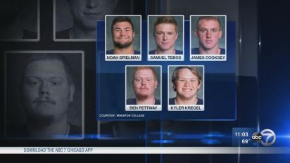 Five Wheaton players facing felony charges