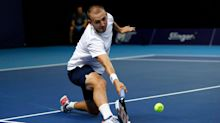 Dan Evans loses to Ugo Humbert in European Open semi-final after failing to convert four match points