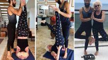 Aos 68 anos, Ana Maria Braga surpreende ao mostrar aula de ioga