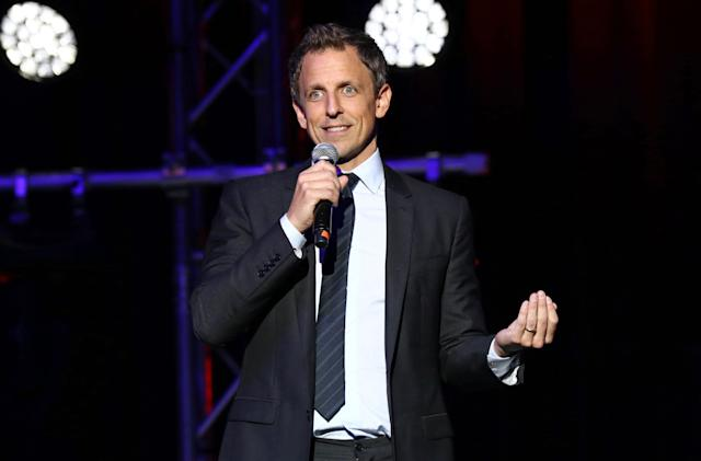 Seth Meyers' Netflix special will have a button to skip Trump jokes
