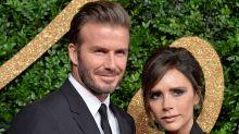 David and Victoria Beckham Let Harper Do Makeup