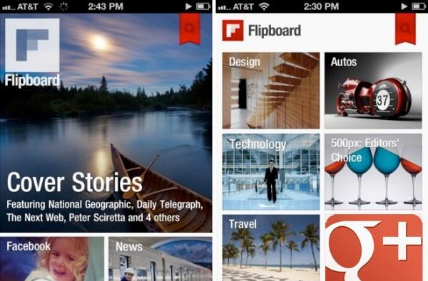 New Google+ API gives Flipboard a cuddle, Currents looks away angrily