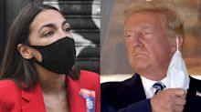 AOC is concerned with Trump's 'perilous medical state' and thinks he shouldn't be making 'dramatic decisions'