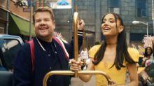 James Corden Enlists Ariana Grande, Marissa Jaret Winokur for Hairspray Parody 'No Lockdowns Anymore'