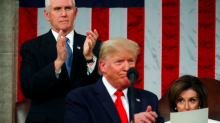 Mike Pence Says Pelosi Hit a 'New Low' When She Tore Up Trump's State of the Union Speech