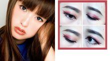 日本女生的最新發明-把眼線放在眼皮摺痕的心機妝容,可以讓眼睛瞬間放大數倍!