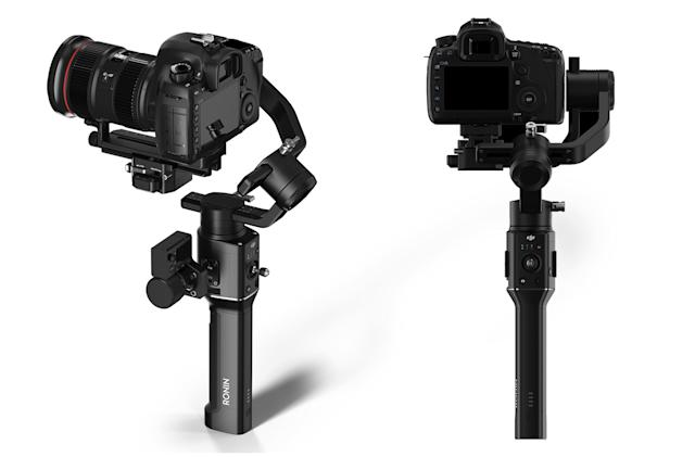 DJI built a one-handed stabilizer for your SLR or mirrorless camera