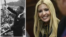 Ivanka Trump thanks Martin Luther King Jr. for 'continuing to inspire us'