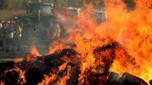Cher : un élu mis en examen après avoir incendié plusieurs hangars agricoles