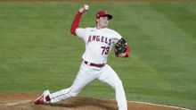 Angels shake up pitching staff, sending reliever Chris Rodriguez to the minors