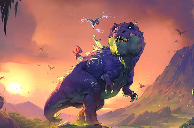 First 'Hearthstone' expansion of 2017 adds dinos and adventure