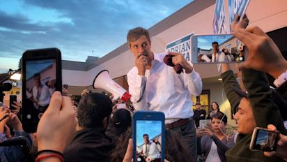 Betomania vs. MAGA: O'Rourke faces Trump rally
