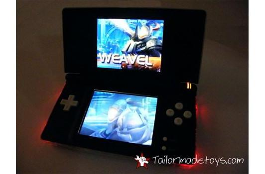 Mod adds LEDs and force feedback to DS Lite