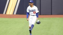 Dodgers' Mookie Betts was fired up after amazing leaping catch at wall