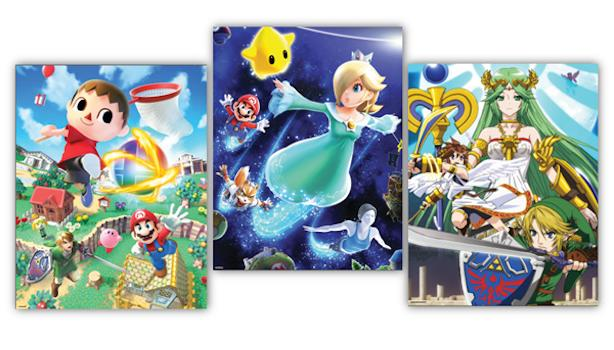 Super Smash Bros. posters up for grabs from Club Nintendo