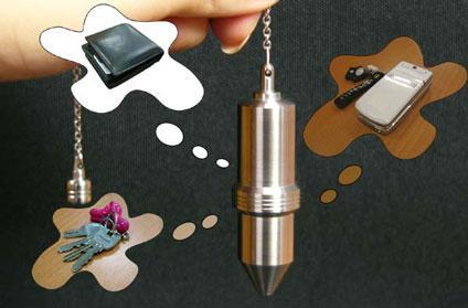 USB pendant magically locates lost objects