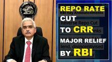 RBI's rescue plan amid COVID- 19 outbreak, announces major relief in Repo rate & CRR