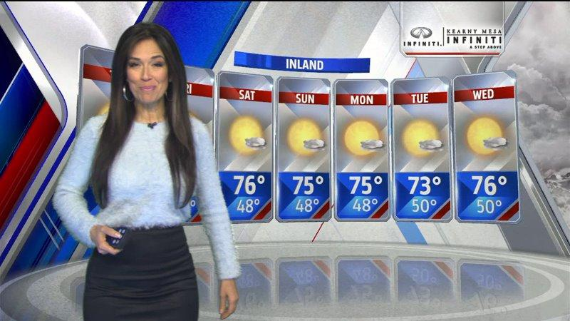 Fox5s Aloha Taylor Gives Her Seven Day Forecast Video