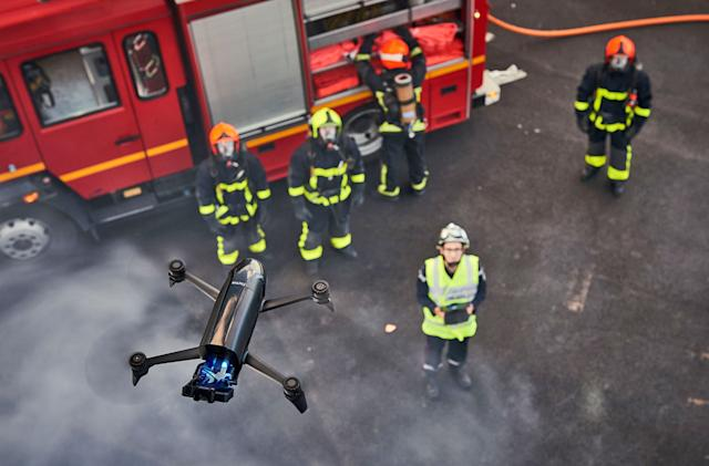 Parrot's latest drones are for farmers and firefighters