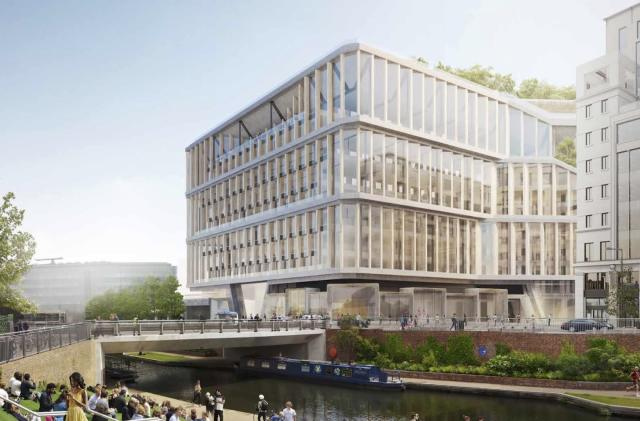 Google's 'innovative' new London HQ features giant moving blinds