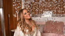 Mariah Carey y sus ostentosos selfies en lencería y lujo