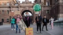 Two years on from solo protest, Greta Thunberg leads thousands of youth climate strikes around the world