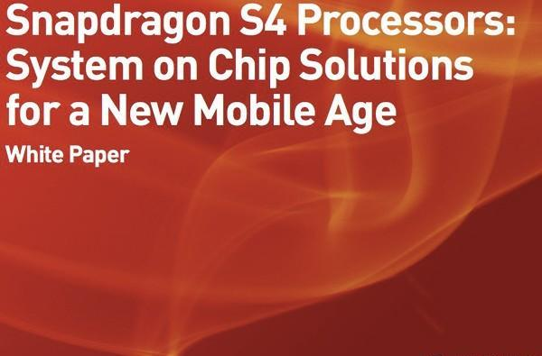 Qualcomm outs Snapdragon S4 SoC details, promises improved battery life and true world capability