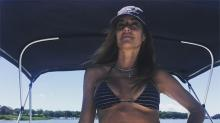 Model Kelly Bensimon, 49, Shows Off Underboob and Fit Figure in Teeny Bikini