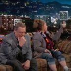 Roseanne Flips Off Kimmel When Asked About Hillary Clinton — Watch