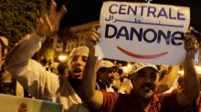 Morocco's Centrale Danone workers protest job losses due to boycott