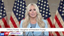 Tiffany Trump enters political spotlight with fiery campaign speech