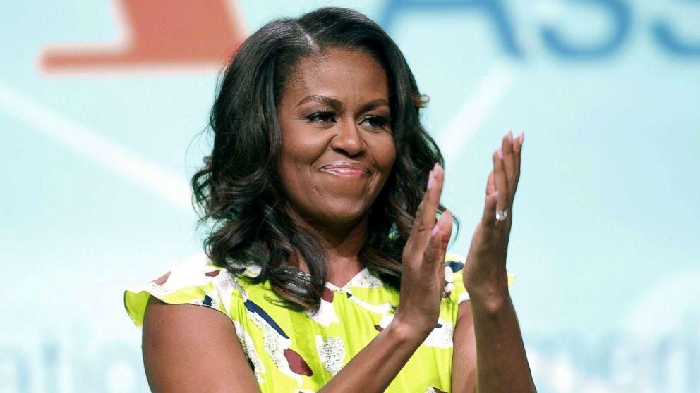 Michelle Obama and her daughters spotted at Beyonce and