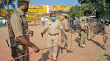 Upper caste men rally 'in support of accused' in gang-rape case that has horrified India