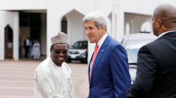 As Kerry visits Nigeria, air force says top Boko Haram fighters killed