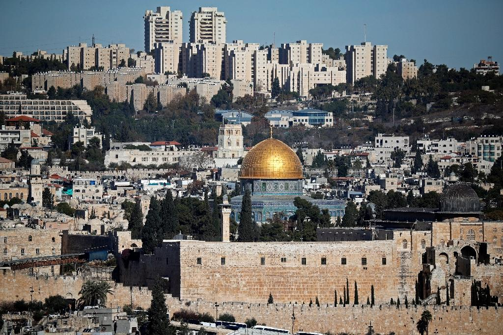 Israel occupied mainly Palestinian east Jerusalem and the surrounding region in the 1967 Six-Day War and later annexed it, declaring the city its capital (AFP Photo/THOMAS COEX)